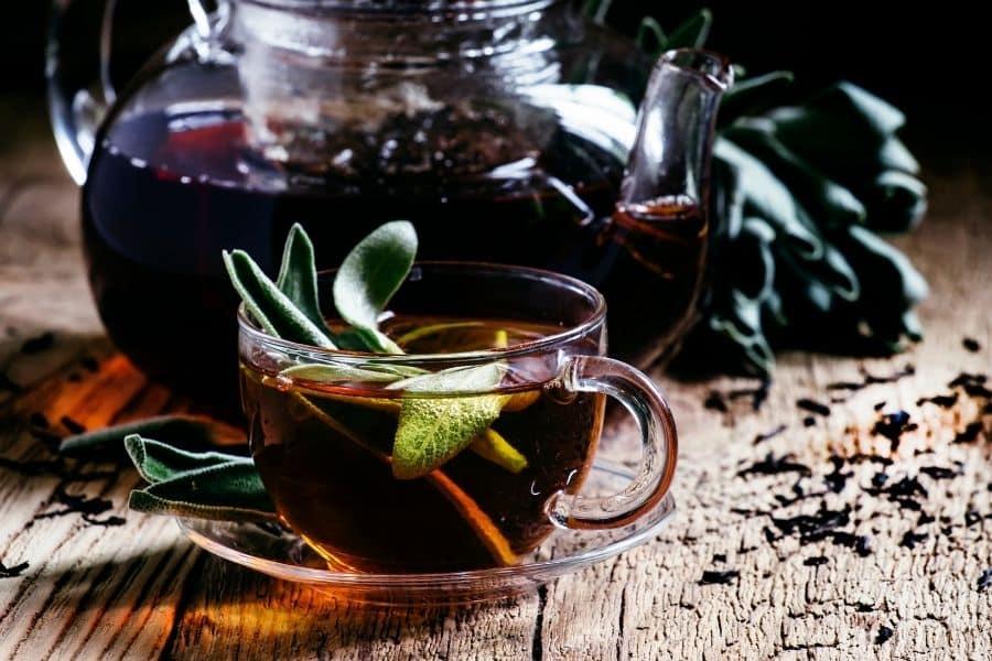 Black tea for hair loss