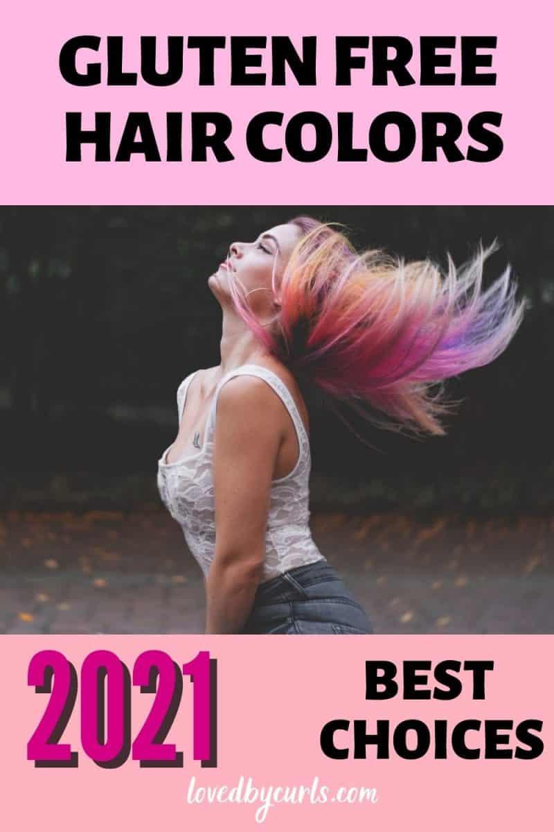 2021 best gluten free hair colors