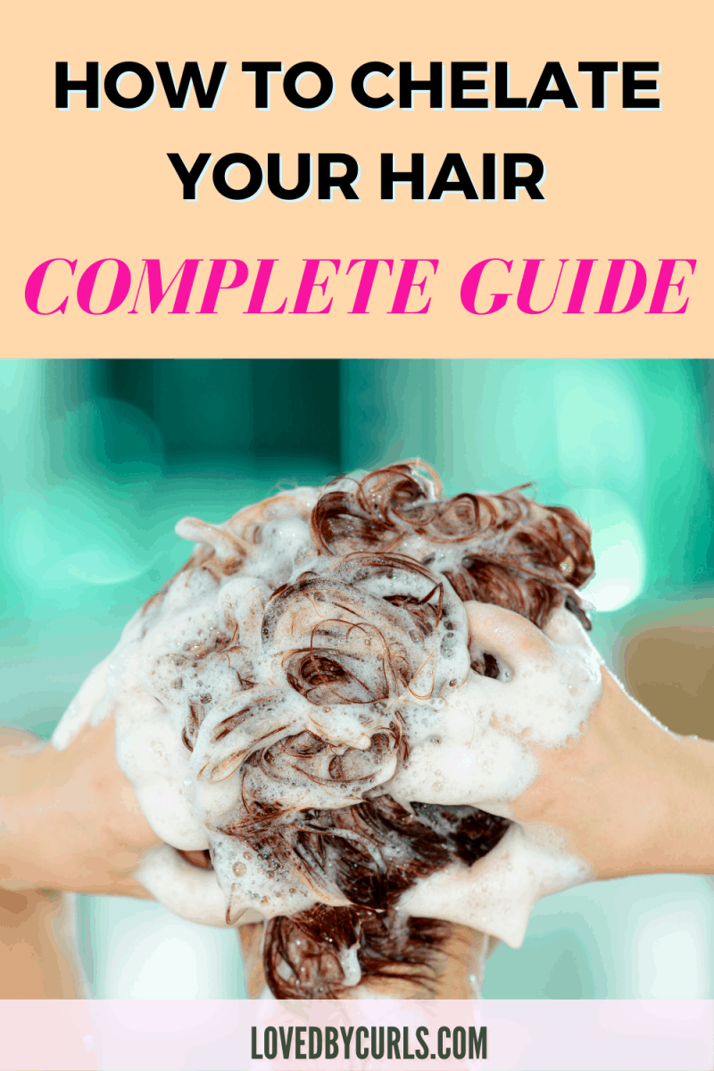 how to chelate hair
