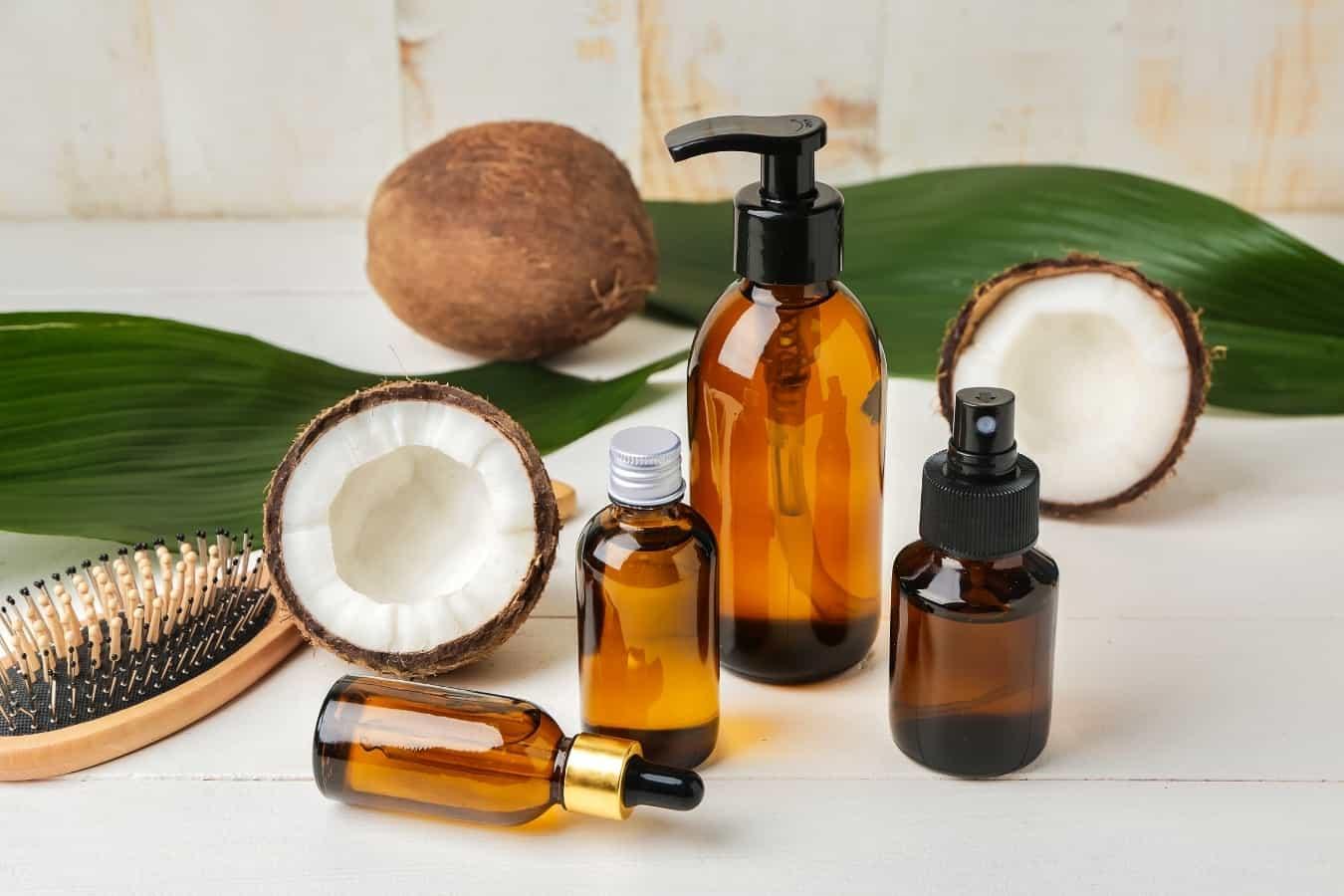 oils for hair compression after shower