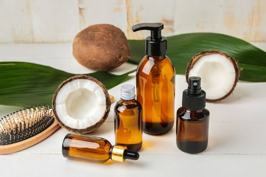 oil hair products
