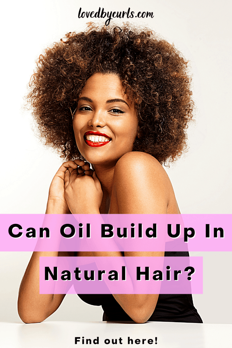 oil build up in hair
