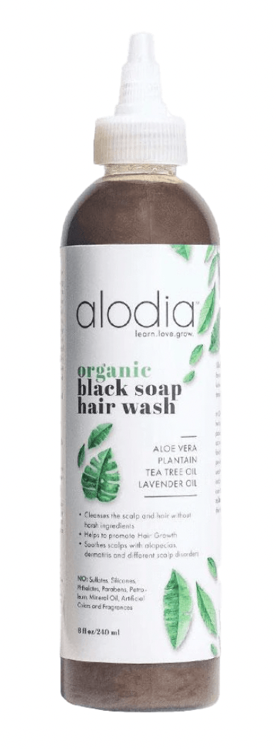 Nourish & Heal Organic Black Soap Wash