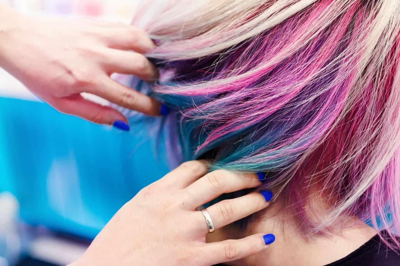 hair dye for keratin treated hair