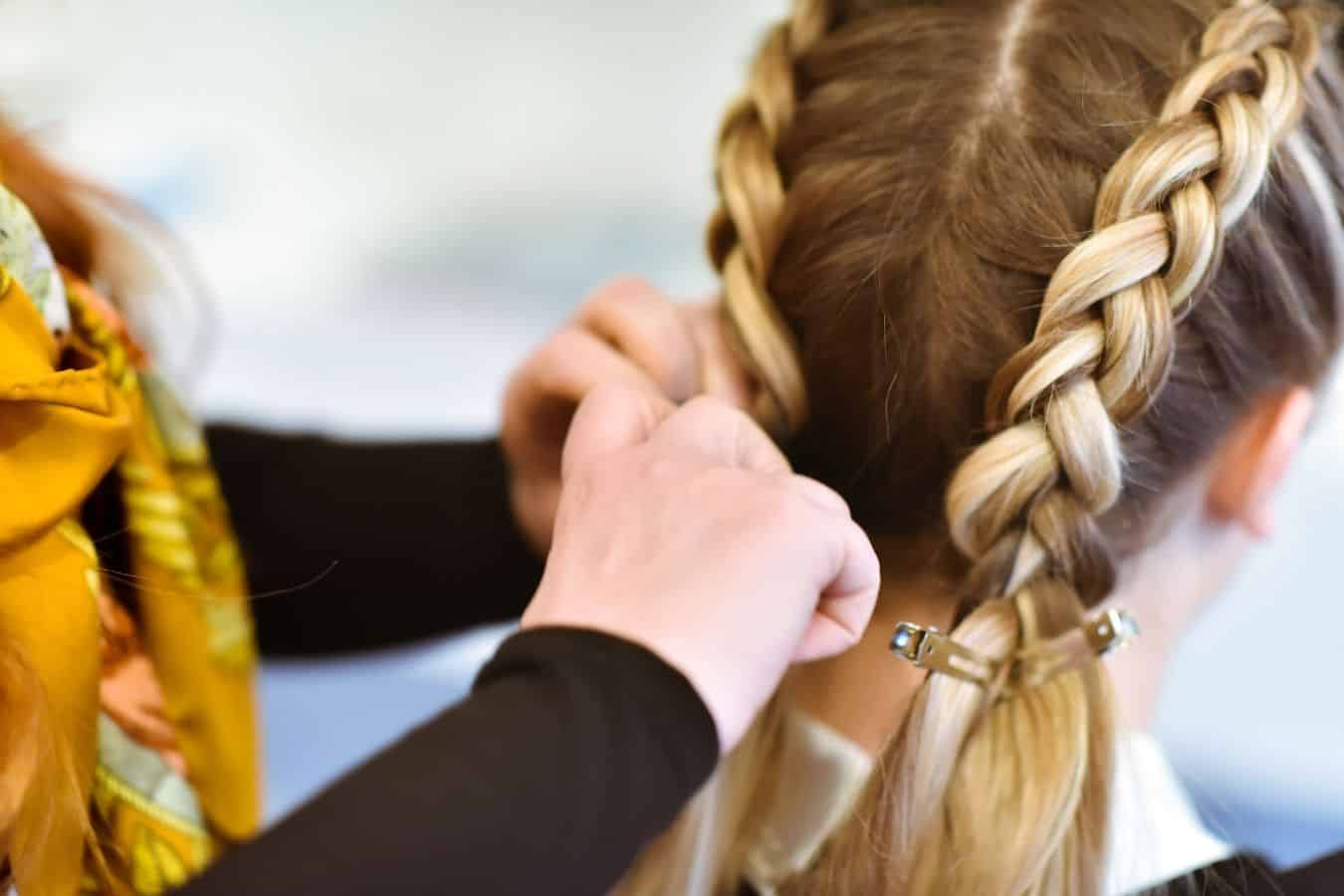 How To Sleep With French or Dutch Braids