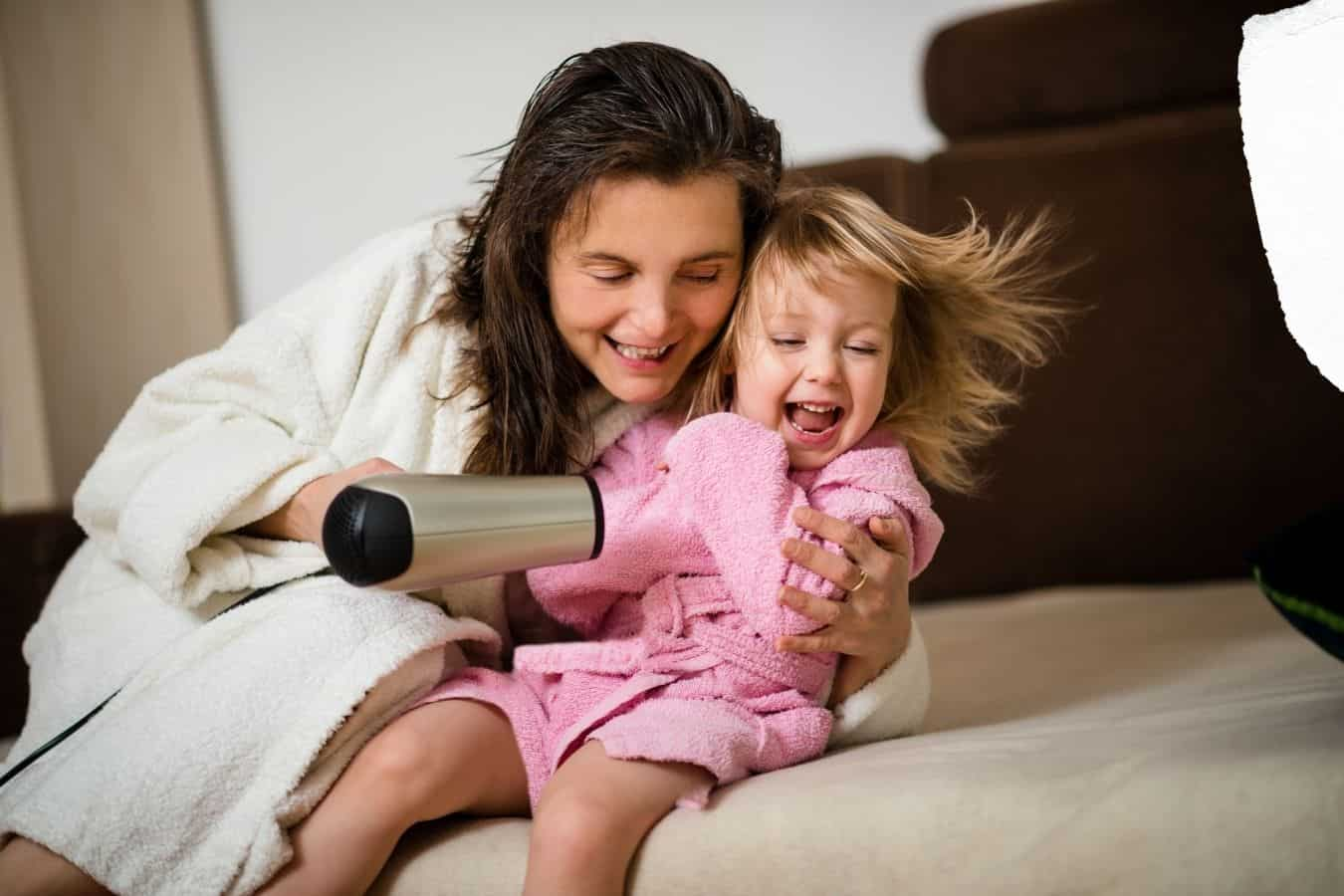 The Best Age To Use A Hairdryer On Your Child