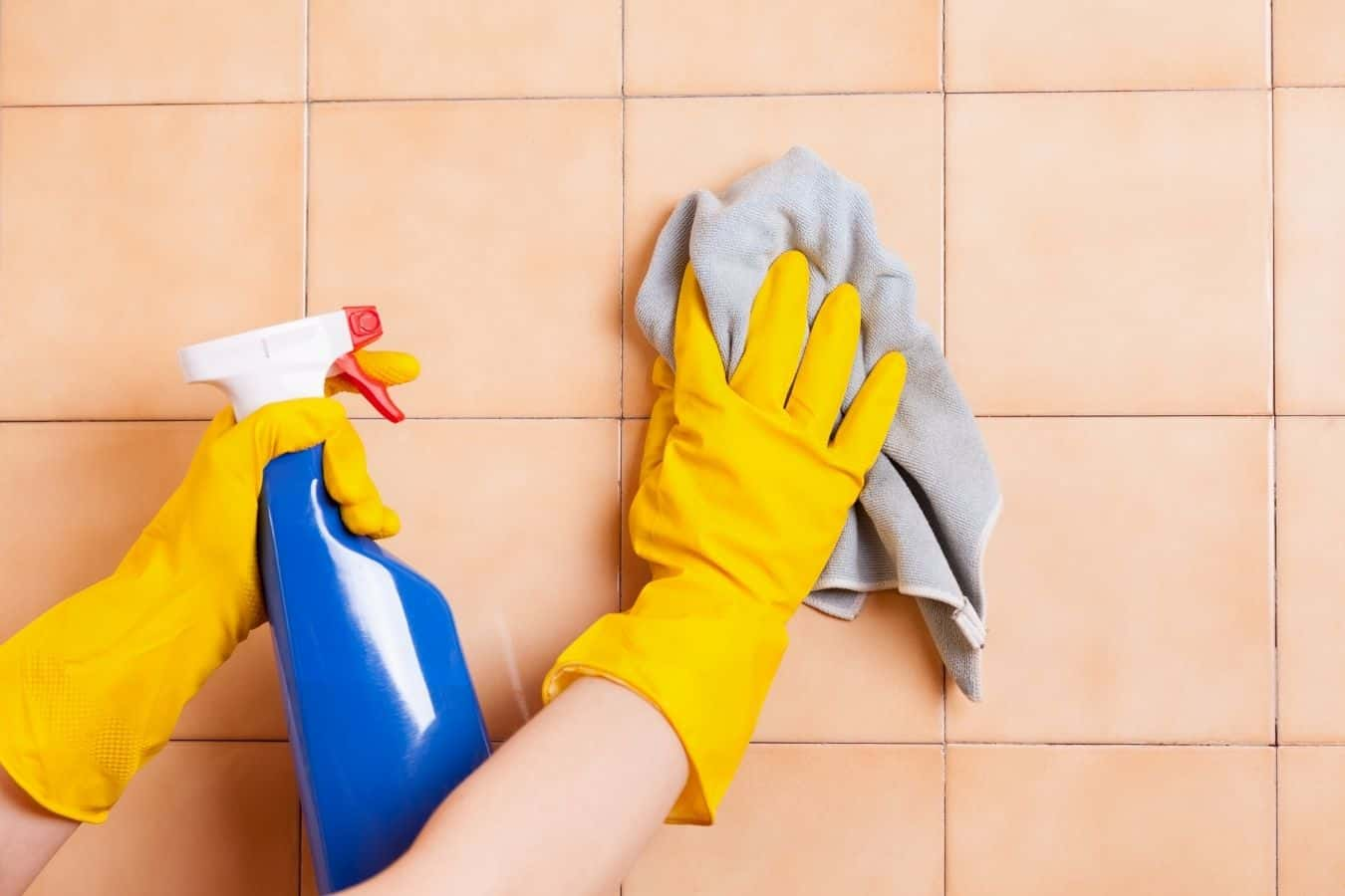how to remove Hair Dye Off Tile