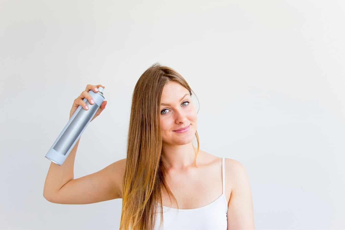 does dry shampoo affect hair dye