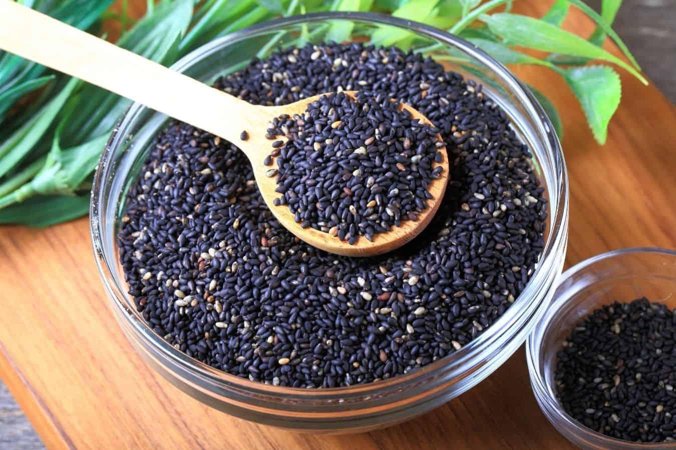 Black Sesame Seeds For Gray Hair
