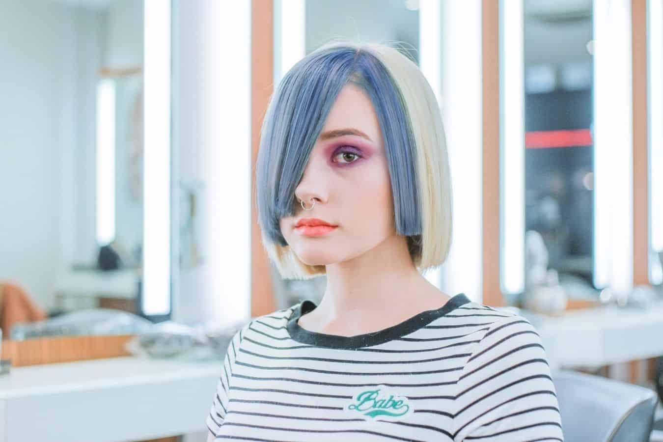 hair dye on oily hair
