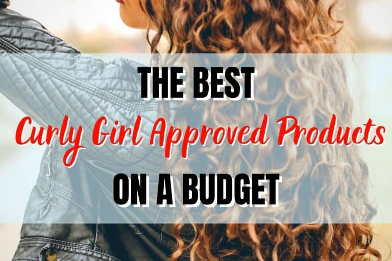 curly girl method on a budget