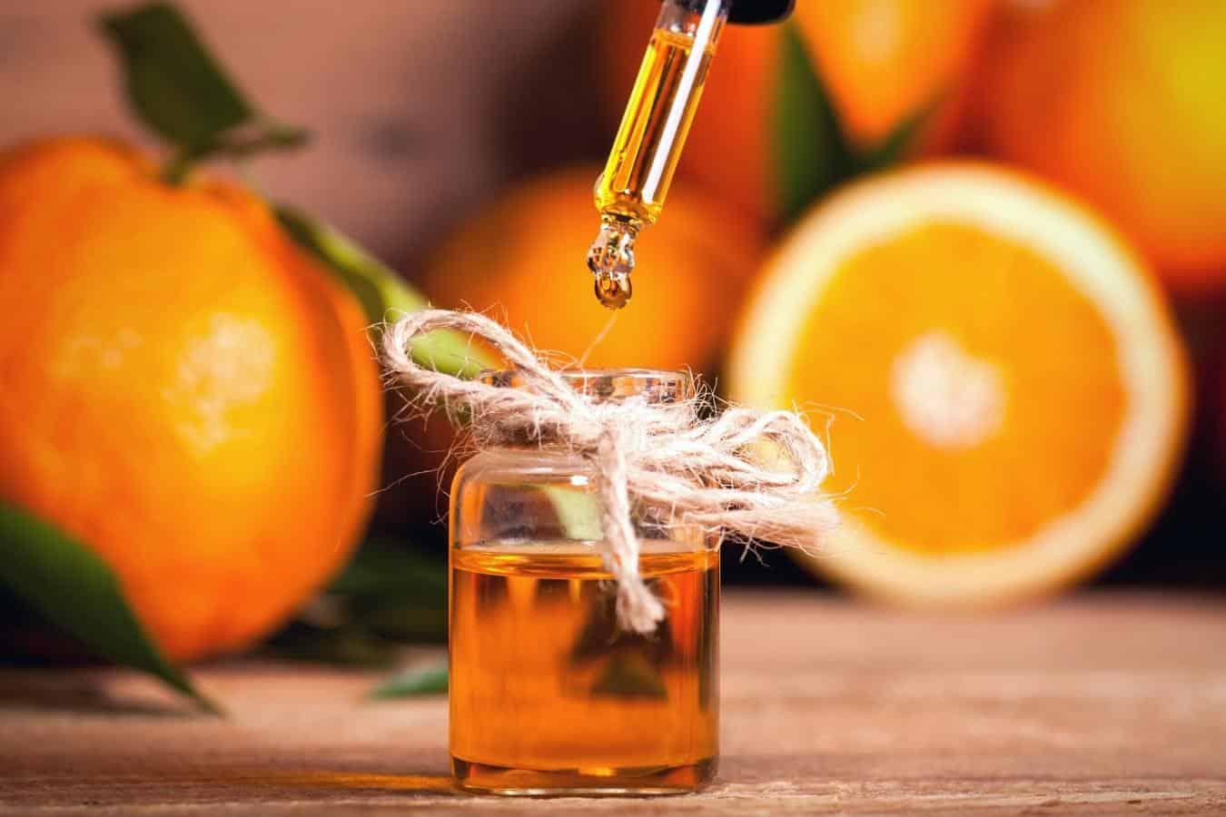 sweet orange oil for hair