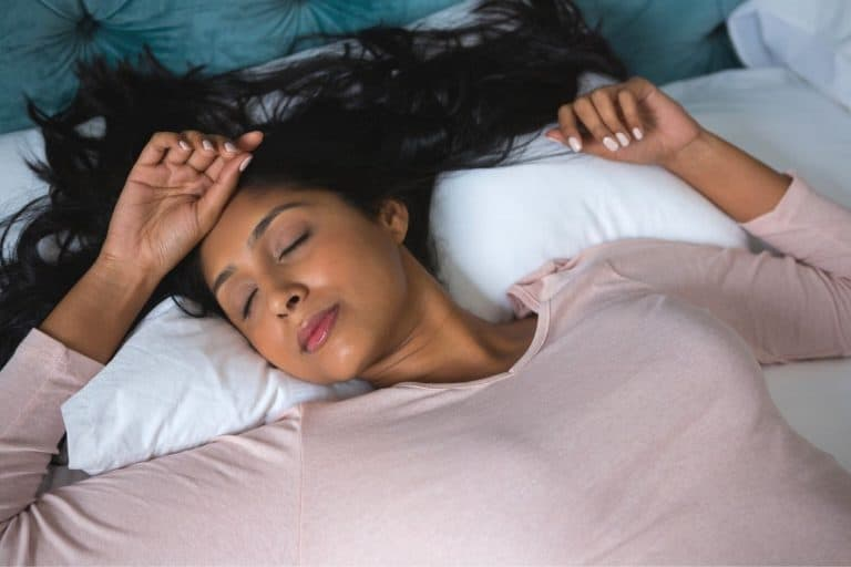 The Best Way To Sleep With Long Hair