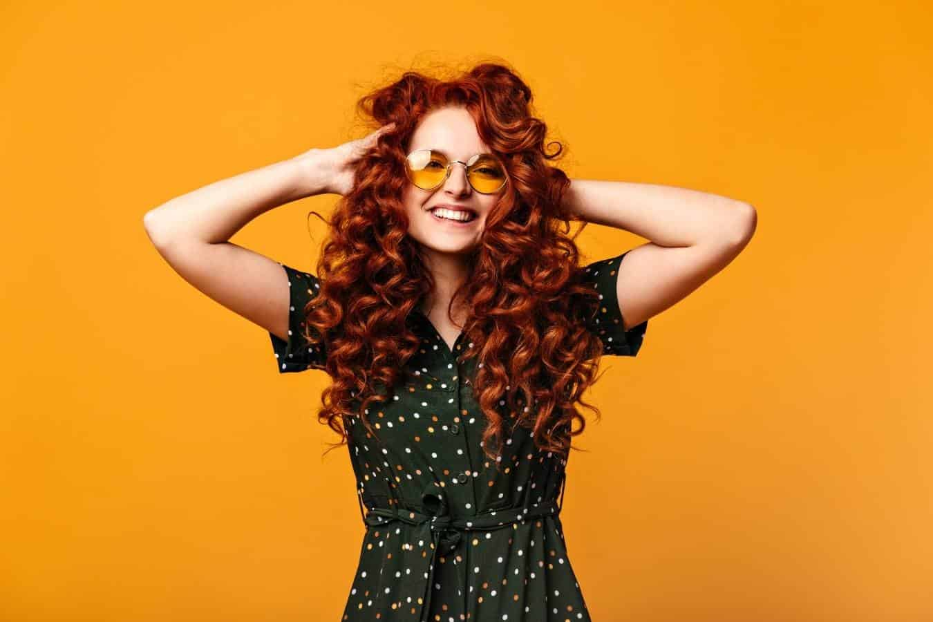 best orange hair dyes