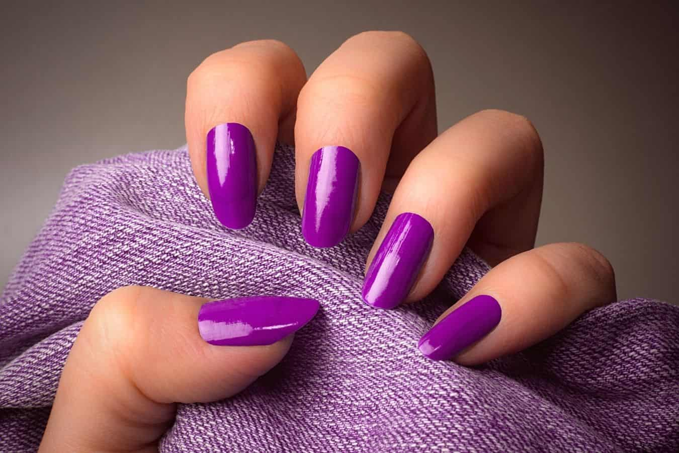 How to Get Hair Dye Off Acrylic Nails
